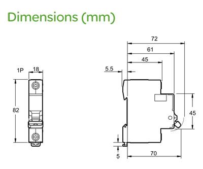 Schneider ez9f16140 easy9 1 module single pole type b miniature specification cheapraybanclubmaster Choice Image