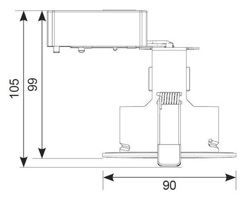 ansell lighting aefrd ip65 mw edge matt white fixed mains voltage jeep cherokee xj wiring diagrams ansell lighting wiring diagram #12