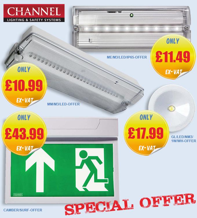 Channel Safety Emergency Lighting OFFER