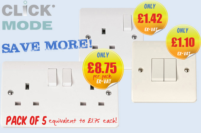 Click Mode - Best Selling White Moulded Range