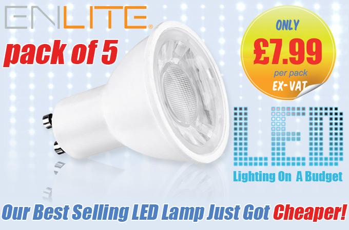 Enlite Ice LED GU10 Lamps - ON OFFER