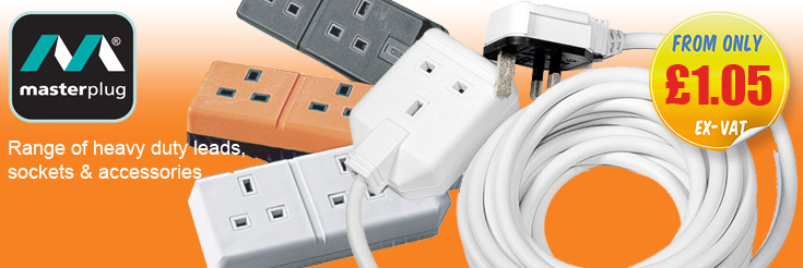 BG Electrical Masterplug Extension Leads and Sockets