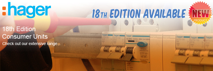 Hager 18th Edition Consumer Units