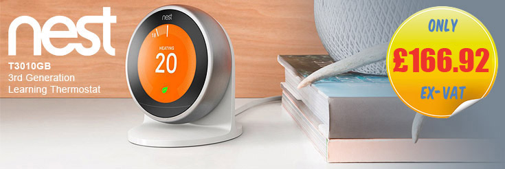 NEST T3010GB 3rd Generation Learning Thermostat