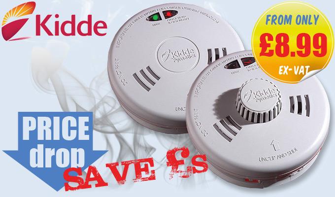 kidde fyrnetics slick smoke heat alarms offer discount electrical. Black Bedroom Furniture Sets. Home Design Ideas