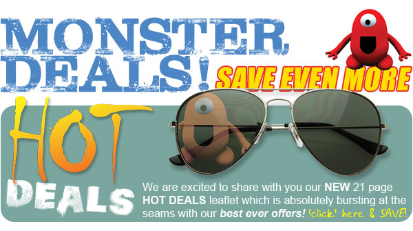 Monster Deals - Save Even More!