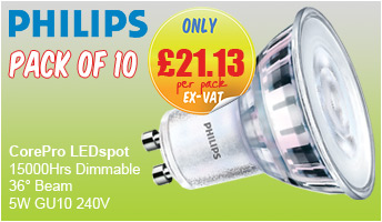 Philips Core Pro LEDspot GU10 LED Lamps - PACKS