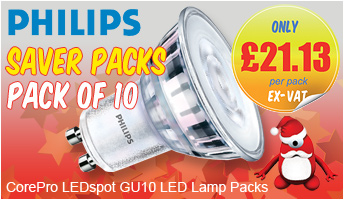 Philips Core Pro LEDspot GU10 LED Lamps - SAVE!