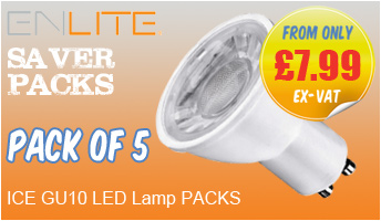 Enlite Ice LED GU10 Lamps - ON OFFER