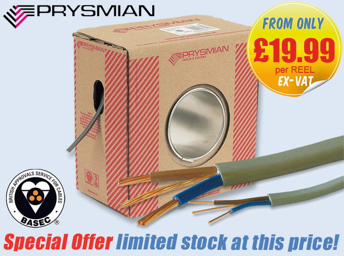 PRYSMIAN Cable Offer