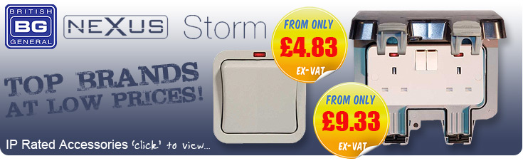BG Nexus Storm Weatherproof Accessories for LESS!