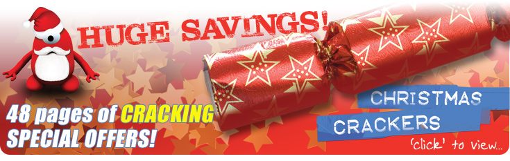 Christmas Crackers! 48 pages of CRACKING DEALS!