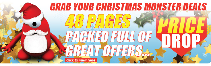 Grab your Christmas Monster Deals - 48 pages FULL