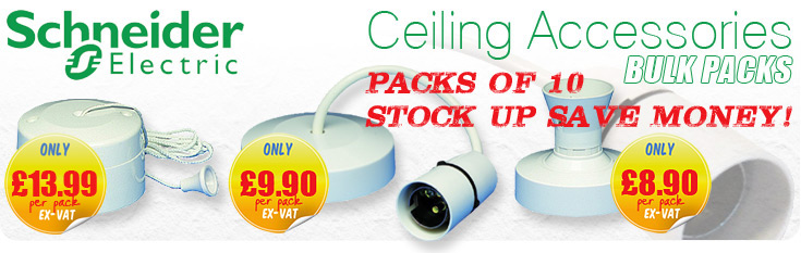 Schneider Ceiling Accessories - OFFER
