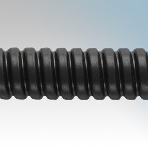 Adaptaflex SP25/BL/25M Type SP Black PVC Covered Steel Flexible Conduit IP54 25mm 25m Reel