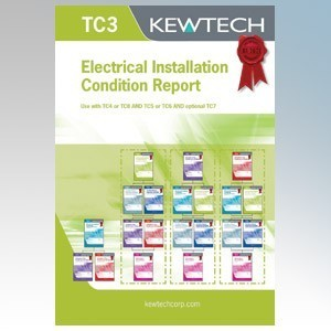 Kewtech TC3 Periodic Inspection Report Pad ( Must Include TC7, TC5 or TC6 )