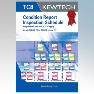 Kewtech TC8 Domestic Electrical Installation Certificates
