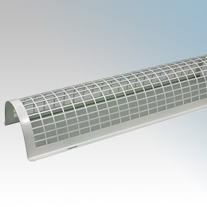 CED TH4G White Tubular Heater Guard 4ft / 1220mm