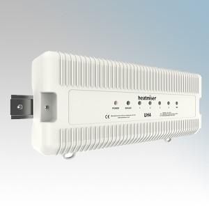 Heatmiser UH4 White 4 Zone Central Wiring Switch Box 230V