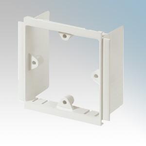 MK Electric VP131WHI Prestige 3D White 1 Gang Mounting Frame