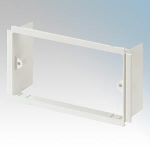 MK Electric VP132WHI Prestige 3D White 2 Gang Mounting Frame
