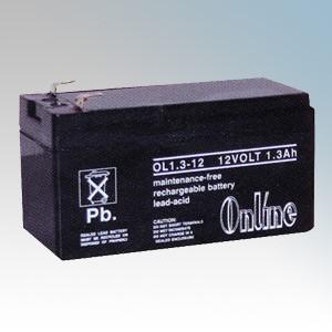 Sealed Lead Acid Alarm Battery 2.4Ah 12V