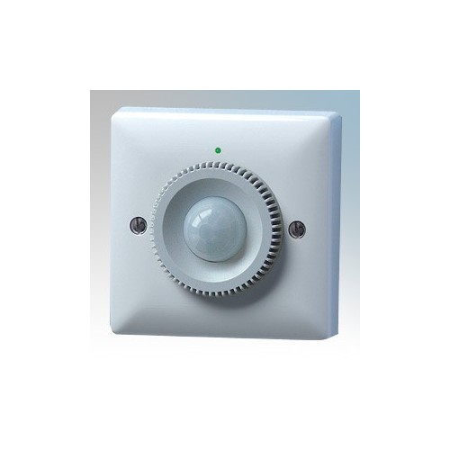 Danlers White 120° Passive Infra Red PIR Thermostat With Hidden Adjustment & 15° - 25° Thermostat Range For Heating 240V