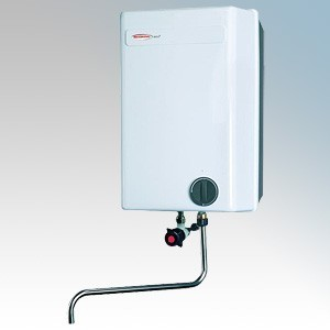 Redring WS73 White Vented Point Of Use Storage Water Heater With Telescopic Spout & Adjustable Thermostat 7 Litres 3.0kW 240V