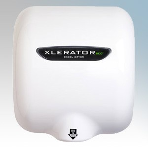 Excel XL-BW Xlerator Eco White Moulded Low Energy Automatic No Touch Hand Dryer 500W 240V