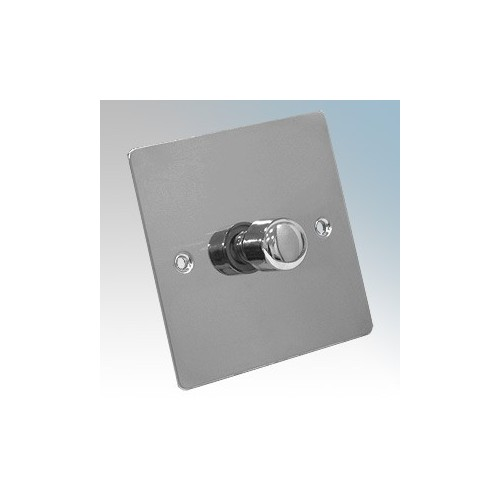 Zano ZSP121PC Polished Chrome 1 Gang Slimline LED Dimmer Switch 120W 240V
