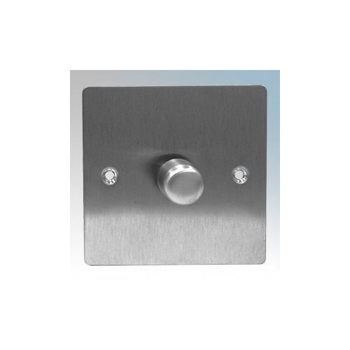 Zano ZSP121SS Stainless Steel 1 Gang Slimline LED Dimmer Switch 120W 240V