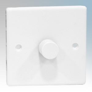Zano ZSP251 White Moulded 1 Gang Slimline LED Dimmer Switch 250W 240V