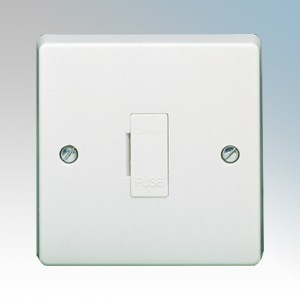 Crabtree 4828 Capital White Moulded Unswitched Fused Connection Unit 13A