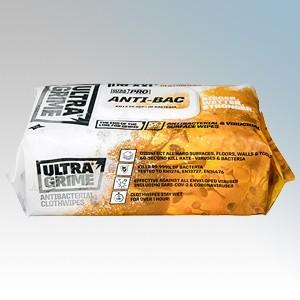 Uniwipe UNIWIPE5930 Ultra Grime Pro Anti-Bacterial XXL+ Cloth Wipes (Pack of 100)
