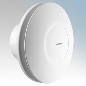 Airflow 72687117-OFFER iCONstant T White Round Continuous Running dMEV Extract Fan With Adjustable Timer IPX5 240V Dia Ø: 197...