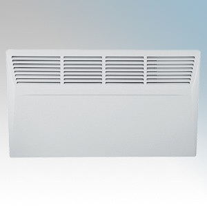Manrose HP24TIMPH100T White LOT20 Compliant Panel Heater With 7 Day Timer & Thermostat IP24 1.0kW