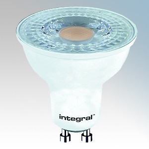 Integral LED ILGU10NC102 Warm White 15000Hrs Non-Dimmable 36° LED GU10 Lamp 4W GU10 240V L:54mm x dia:50mm
