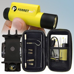 SuperRod SR-FERRET-OFFER Multipurpose Wireless Inspection Camera & Cable Pulling Tool Kit With Free Ferret Wristband