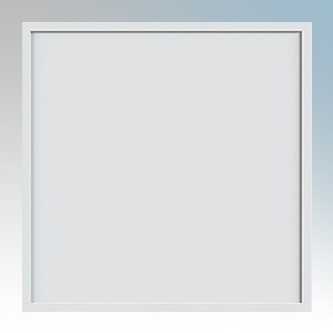 Ovia OV73301CW Jura White LED Flat Panel Luminaire With Opal TP(a) Diffuser & Cool White LEDs IP20 30W 2900Lm 240V Length: 595 - Width: 595mm - Depth: 9mm