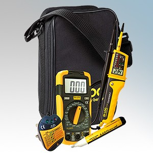 DiLog EKB001- OFFER Electricians Test Kit Bundle - Includes DL6790 + PL208N + DL1090 + PL107N Testers & Carry Pouch