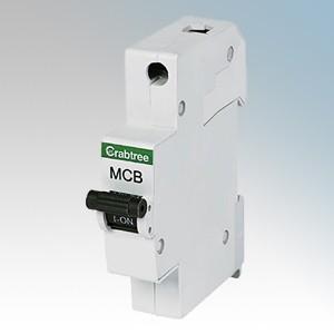 Crabtree 61/B32 Starbreaker 1 Module Single Pole Type B Miniature Circuit Breaker MCB 32A 6kA