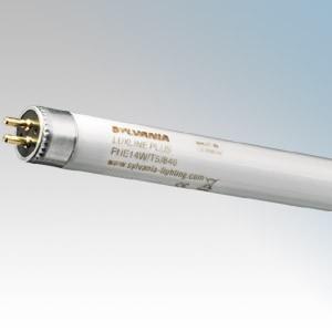 SLI Sylvania White Standard T5 Fluorescent Tube 8W G5 240V 288mm x 16mm