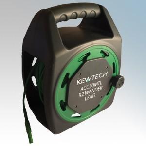 Kewtech ACC50MTL Test Lead Extension Reel 50m Length