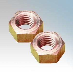 089-188-005 Brass Hexagonal Full Nuts M6 ( Pack Size 100 )