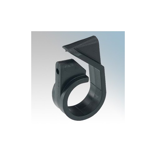 Prysmian 385AA04 Black One Piece Single Fixing Adjustable Telcleat 17.7mm - 24.0mm (Pack Size 50)