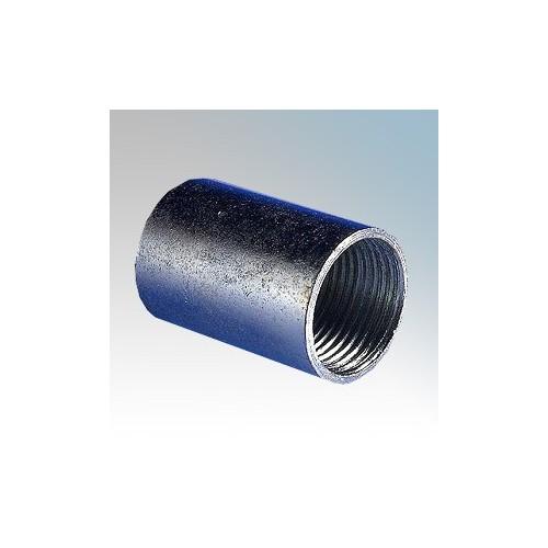 CF20CG Galvanised Steel Straight Solid Coupler 20mm