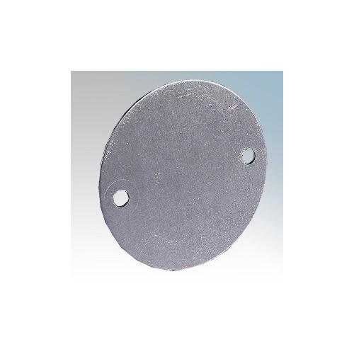 CFBLG Galvanised Steel Steel Box Lid For Steel Conduit Round Boxes