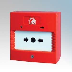 Channel Safety CHBG/WP/1 Red Weatherproof Surface Mounting Break Glass Call Point IP65