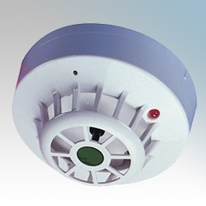 Channel Safety CHHF/A/HT Conventional Fixed 80°C High Temperature Heat Detector With Base  9V - 33V