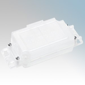 CHOC30A (Pack of 20) Clear Chocbox Connector Cover Without Terminals 2A - 30A